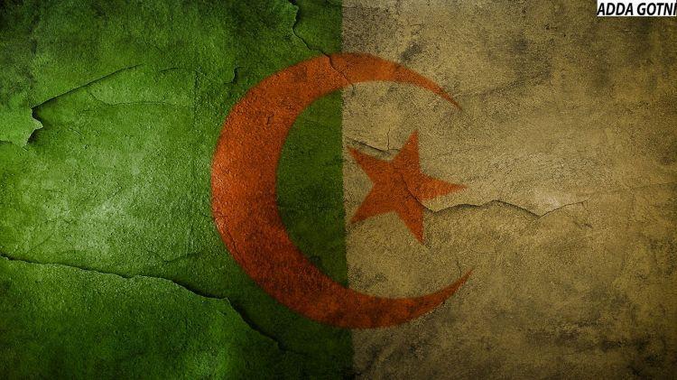 Fonds du0027écran Voyages  Afrique Algérie Drapeau Algerie Stylée