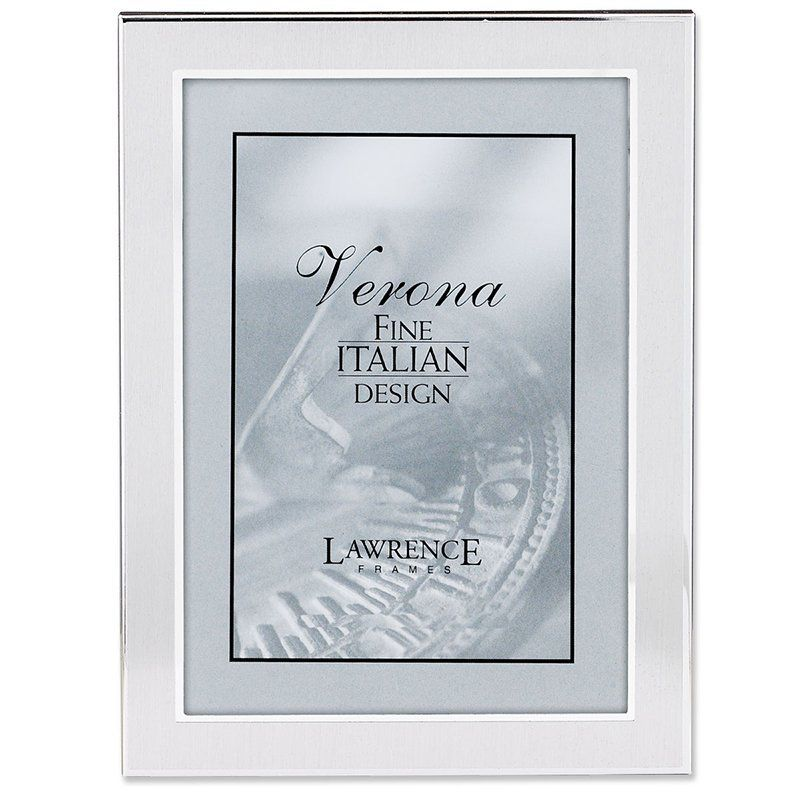 Lawrence Frames Brushed Metal Picture Frame - 750057 | Products ...