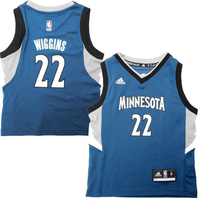 Andrew Wiggins Minnesota Timberwolves Adidas Preschool Replica