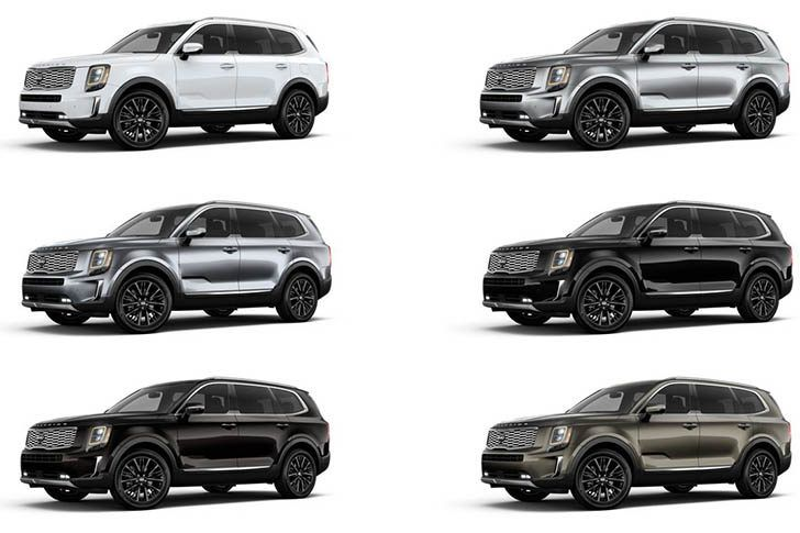 2020 Kia Telluride Interior Colors Concept Release Date In 2020 With Images Kia Colorful Interiors New Cars