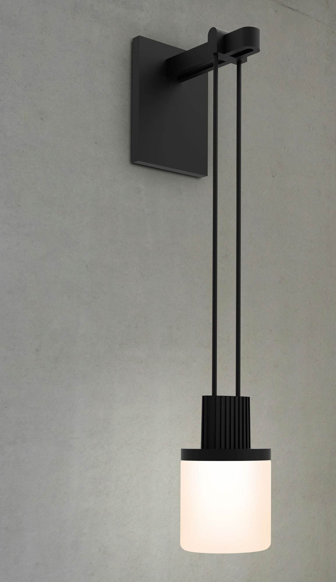 Suspenders Single Wall Light With Drum Luminaire By Sonneman A Way Of Light S1l01k Mfxxxx12 Rp06 Wall Lights Wall Lamp Lamp
