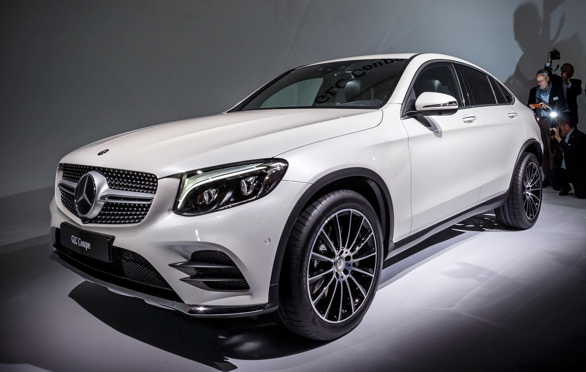 Fresh Metal 2017 Mercedes Benz Glc Coupe Is New Fastback X4