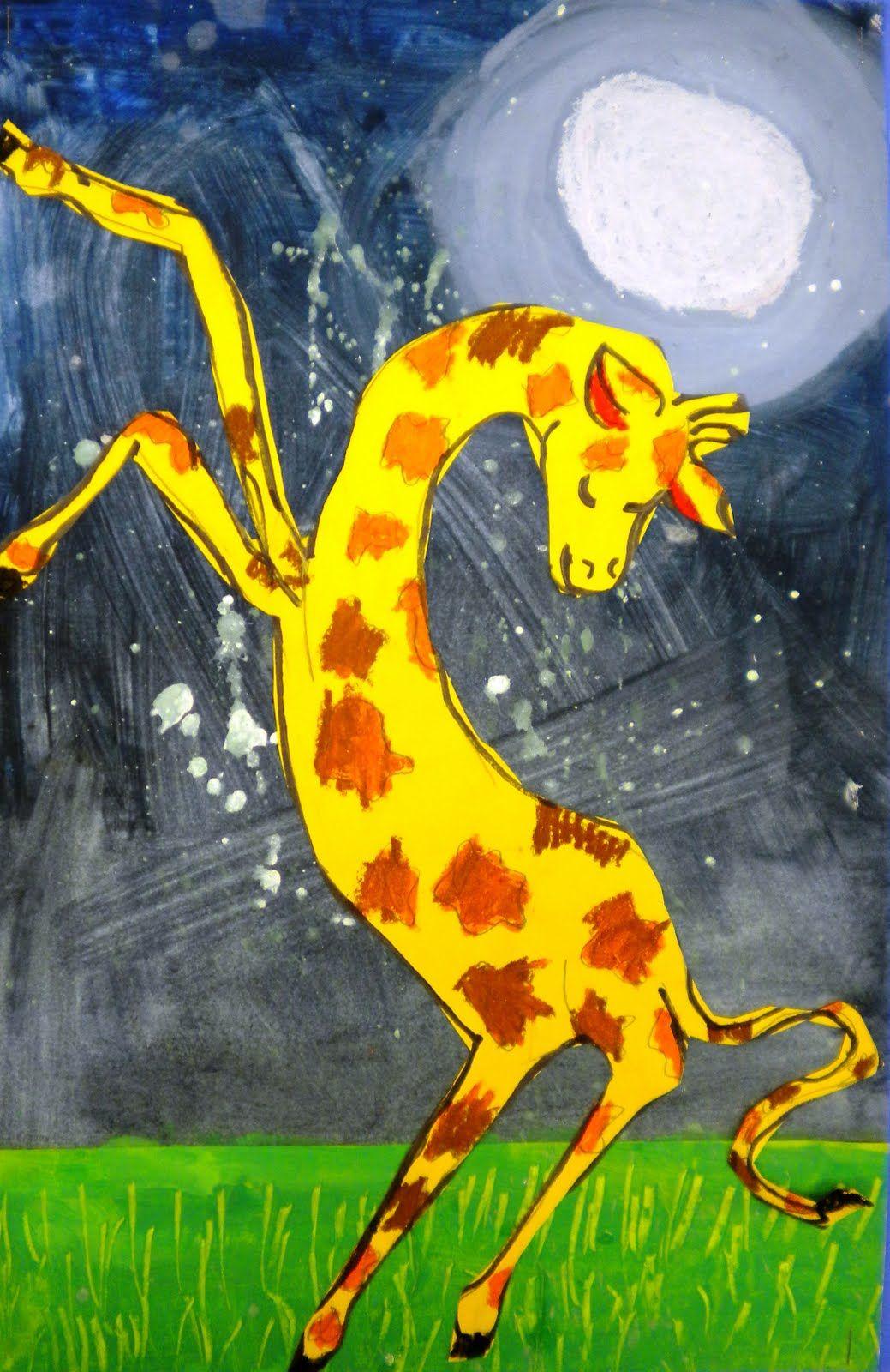 for the love of art 2nd grade giraffes can u0027t dance teach art