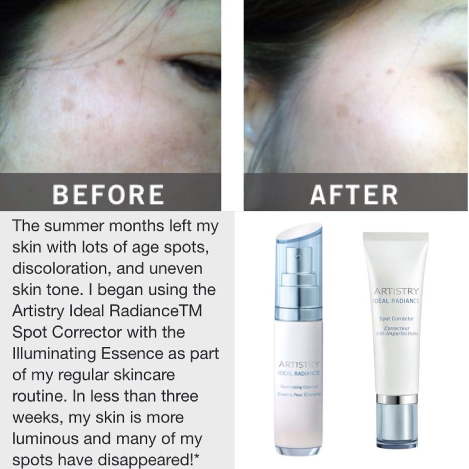 Artistry Ideal Radiance Before After Artistry Amway Amway