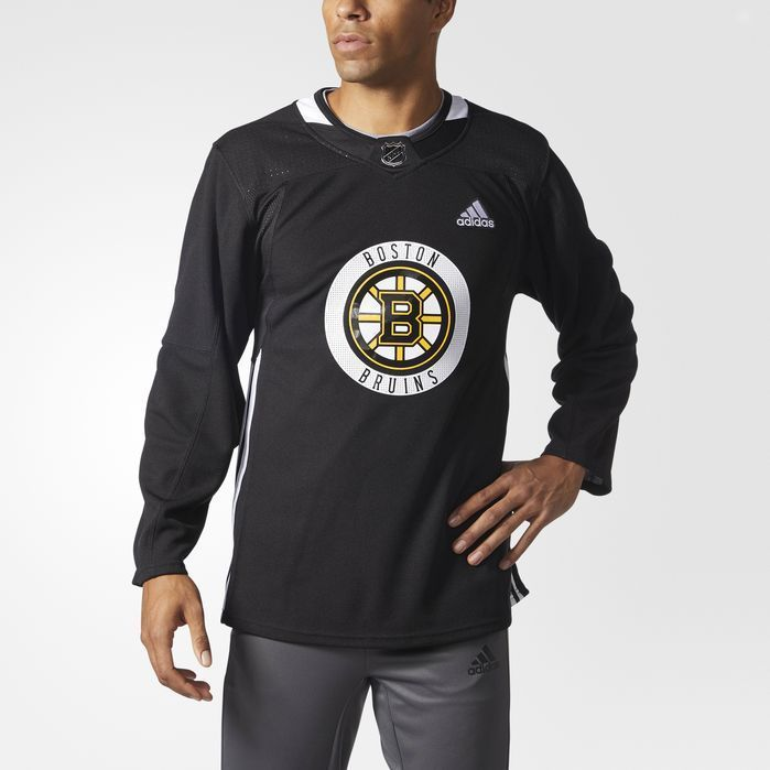 huge discount 70a27 d093c adidas Bruins Authentic Practice Jersey - Mens Hockey ...