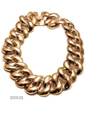 Check out this chain #necklace available at www.RedLB.com now!! #RedLetterBoutique