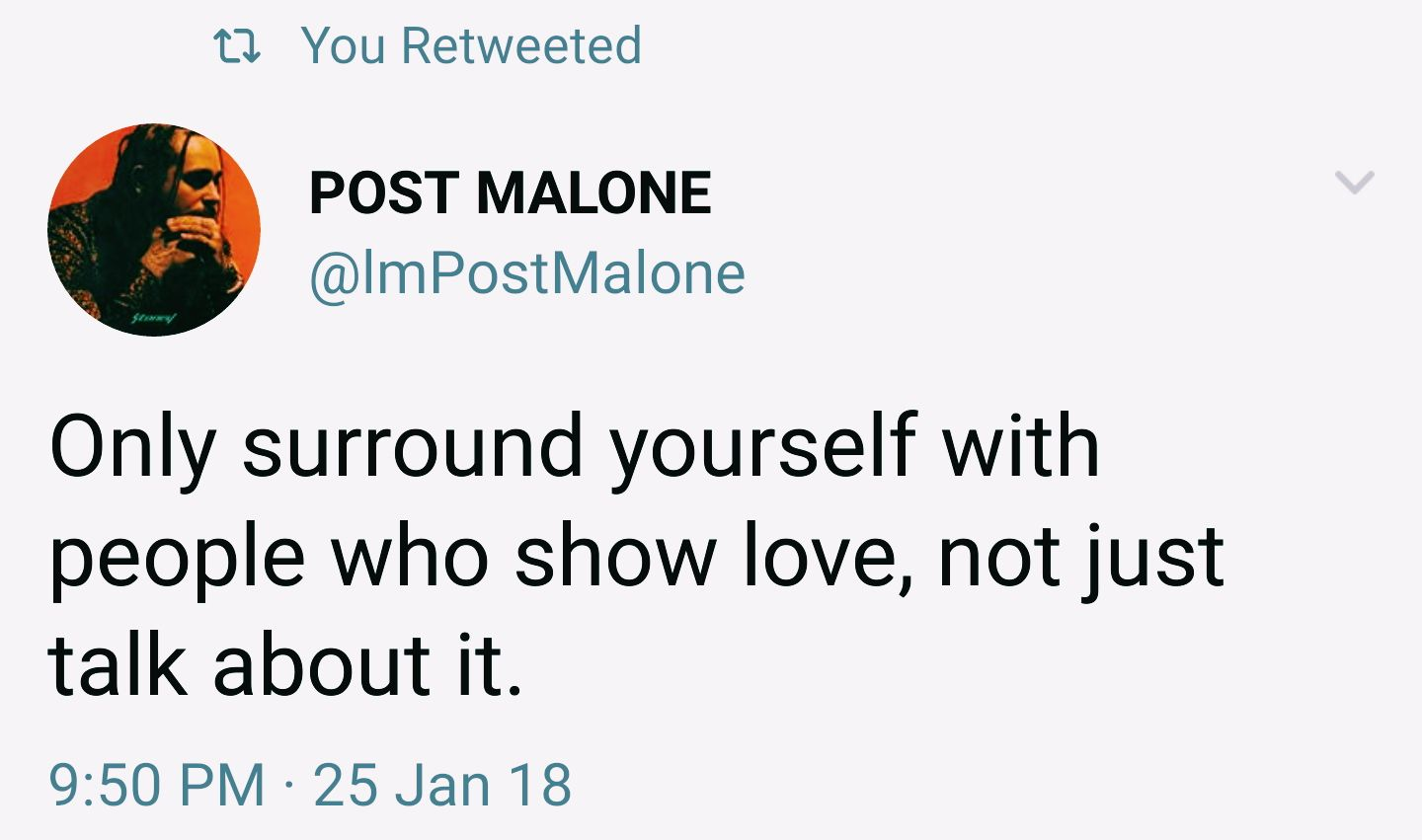 VSCO - can u tell I rly like post malone & his tweets? | saraxleclaire #postmalonewallpaper