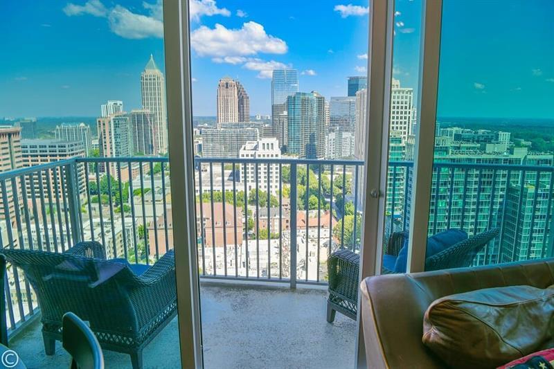 View From A Condo At Spire Condos In Atlanta Atlanta Condo Condo Spires