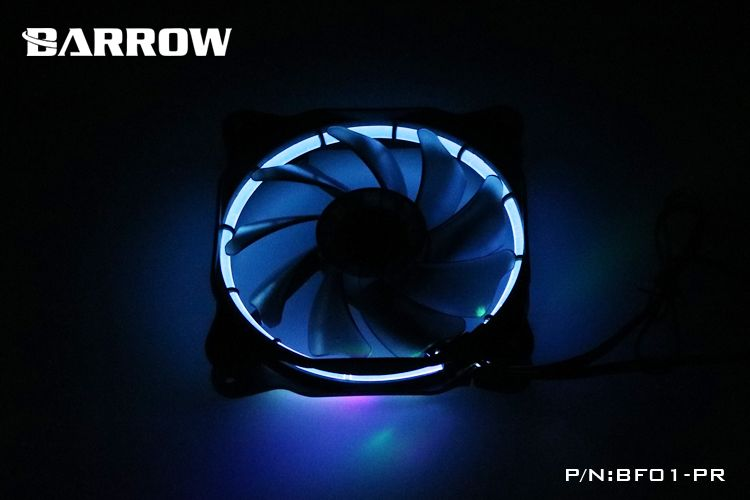Barrow Rgb Aura Pwm Radiator Fan Computer Computer Case Fan Water
