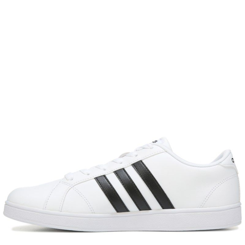 34f09d42d1d42 Adidas Kids' Baseline Fashion Sneaker Pre/Grade School Shoes (White/Black)