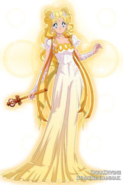 Moon Princess Luxanna ~ by Minkitea ~ created using the Sailor Senshi doll maker | DollDivine.com