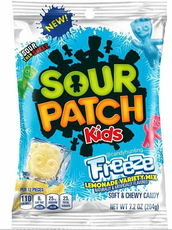 Sour Patch Kids Freeze Lemonade Variety Mix Sour Patch Kids Sour Patch Frozen Lemonade
