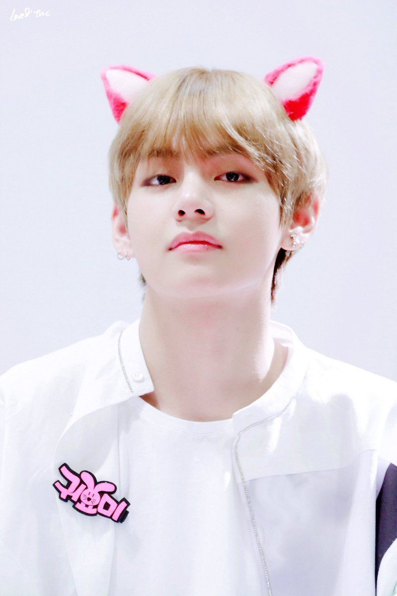 Bts V Cute Wallpaper Hd