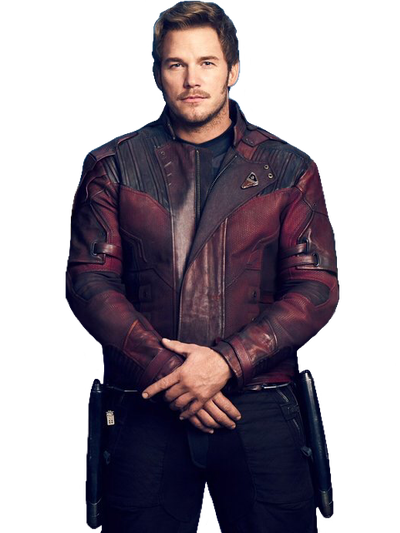Starlord Infinity War Jacket Black Leather Jacket Star Lord Marvel Jacket Infinity War