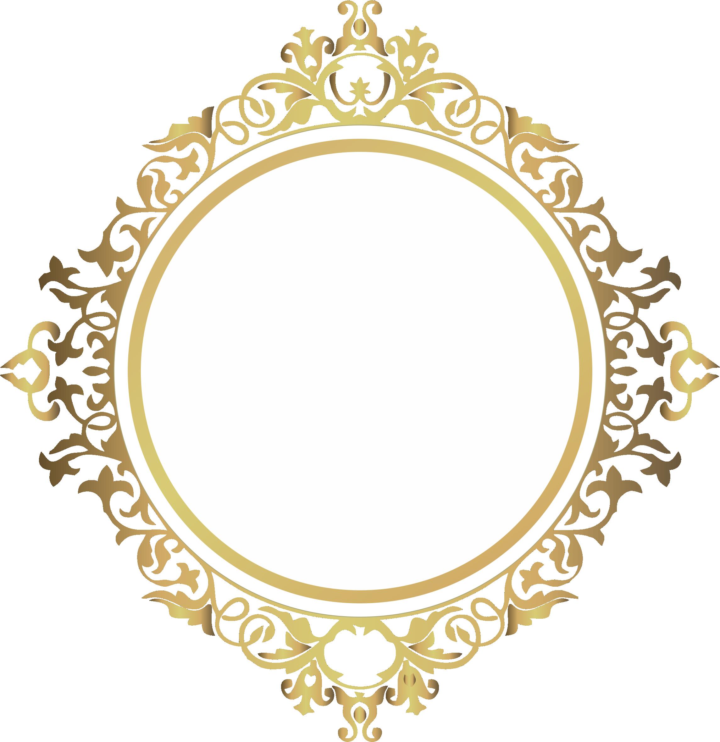 Pin De Ricardo Nunez Em Frames Brasao Casamento Monograma Casamento Arabesco Dourado Png