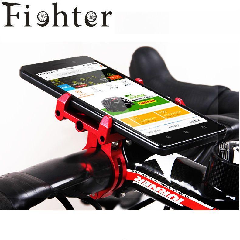 Aluminum Bike Bicycle Handlebar Mount Motorcycle Support Phone GPS Holder