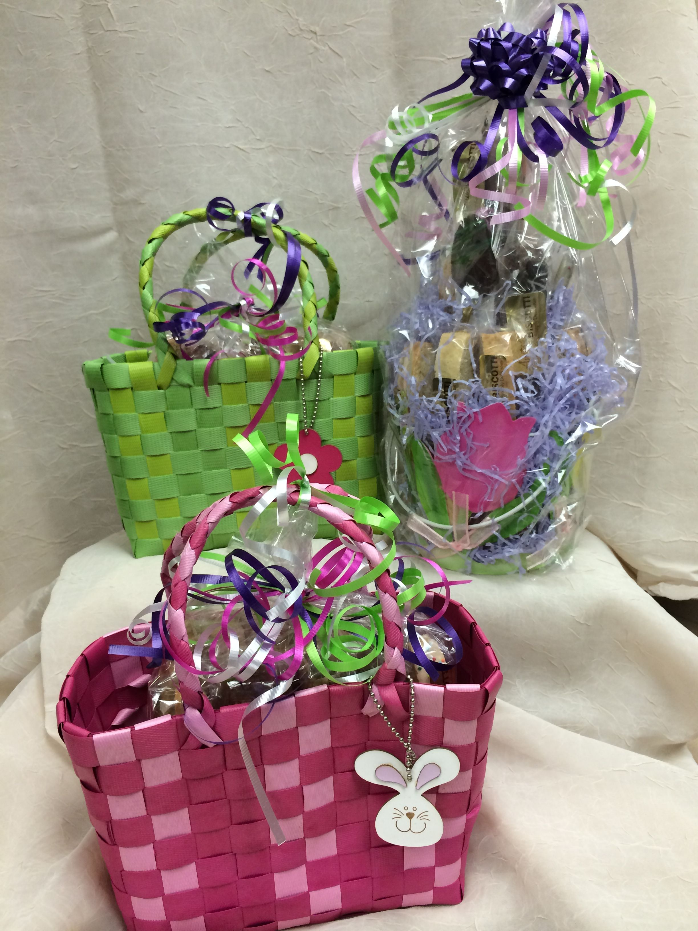 Easter gift baskets gifts gift wrapping