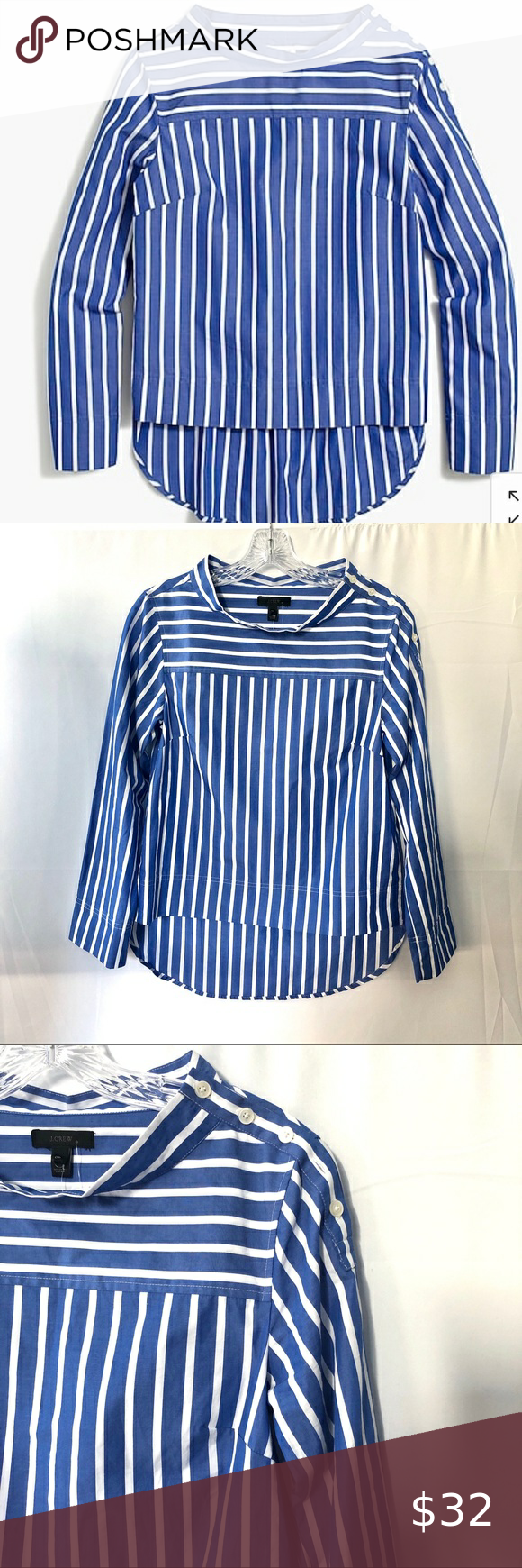 Blue And White Stripped Summer Shorts Blue And White Stripes With Pockets Comes With Belt Too Never Worn Blue And White Shorts With Tights Summer Shorts