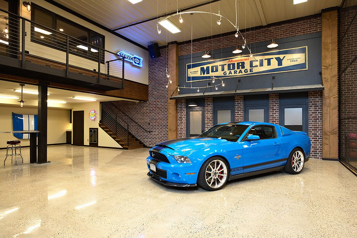 Man Cave 2 Car Garage : Luxury garage interiors cave by twist interior design