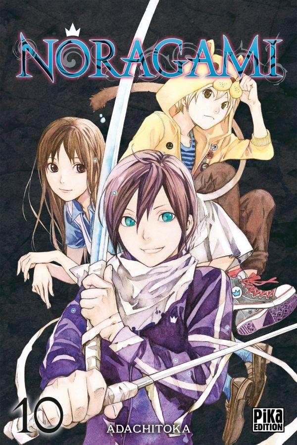 Les sorties manga du 01/05/16 chez Pika Noragami T.10