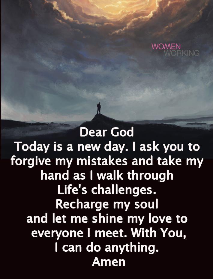 Pin by Lynda Williams on Prayerful / Journaling Dear god
