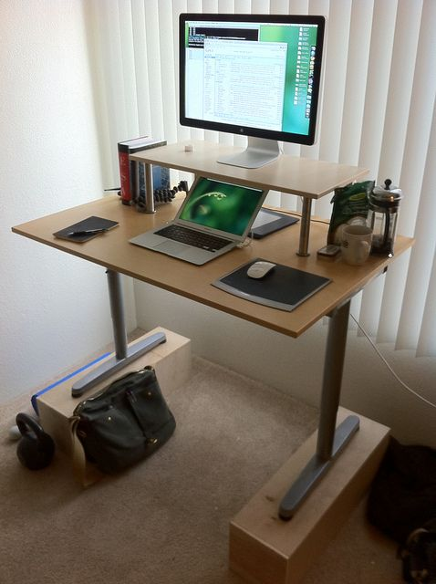 What S On My Stand Up Desk 2011 Edition Diy Standing Desk