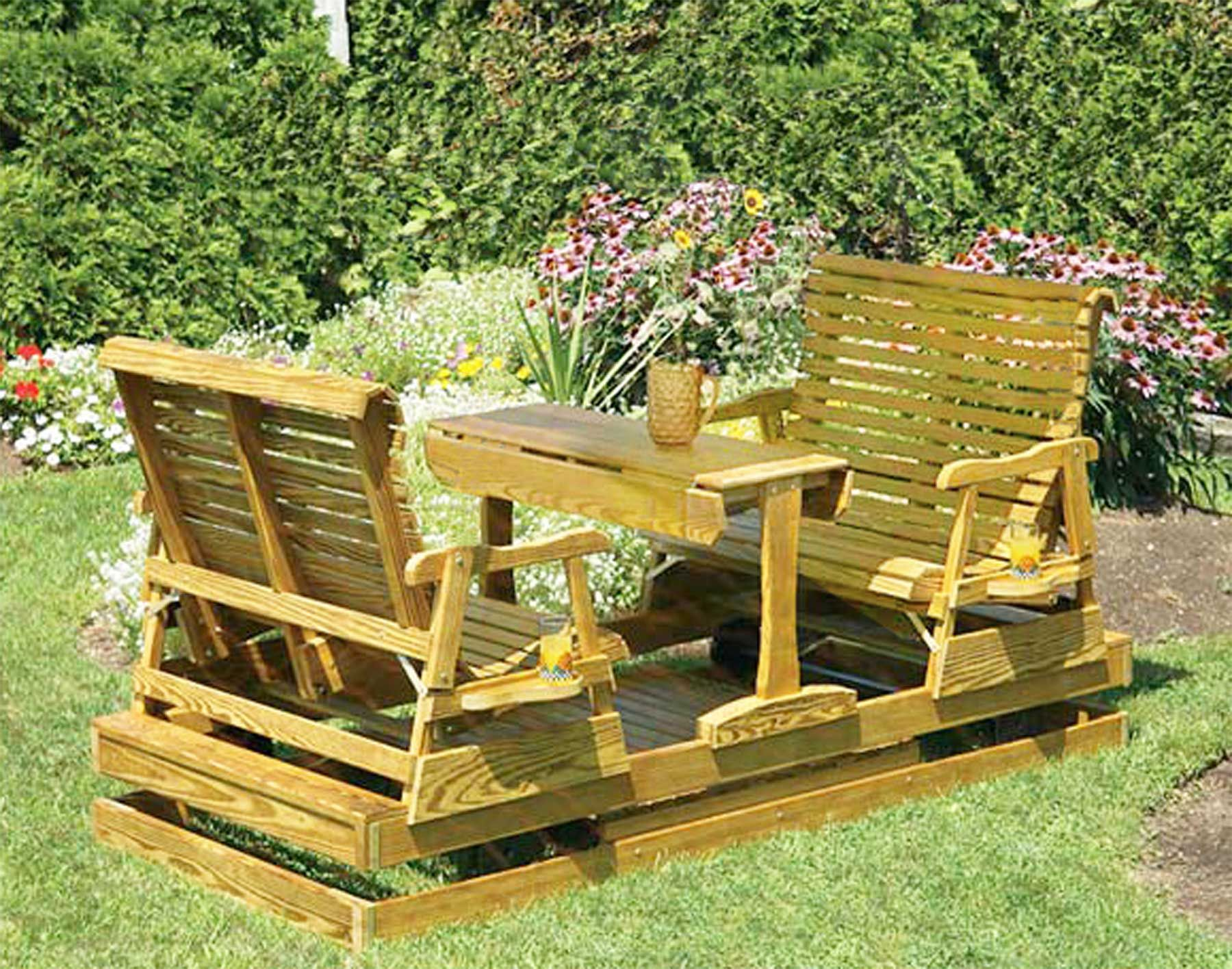 Wood Patio Chairs Plans Wood Patio Glider Chairs Plans R