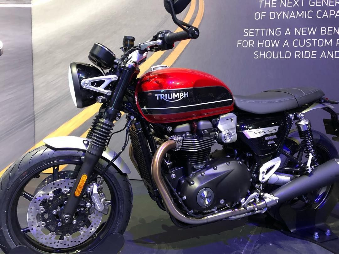 So Triumph Finally Pulled The Cover Off The 2019 Speed Twin