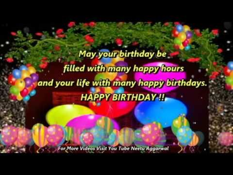 Happy Birthday Wishes Blessings Prayers Quotes Sms Birthday Song E Card Wallpaper Whatsapp Video Birthday Wishes Birthday Wishes Greetings Happy Birthday Cards