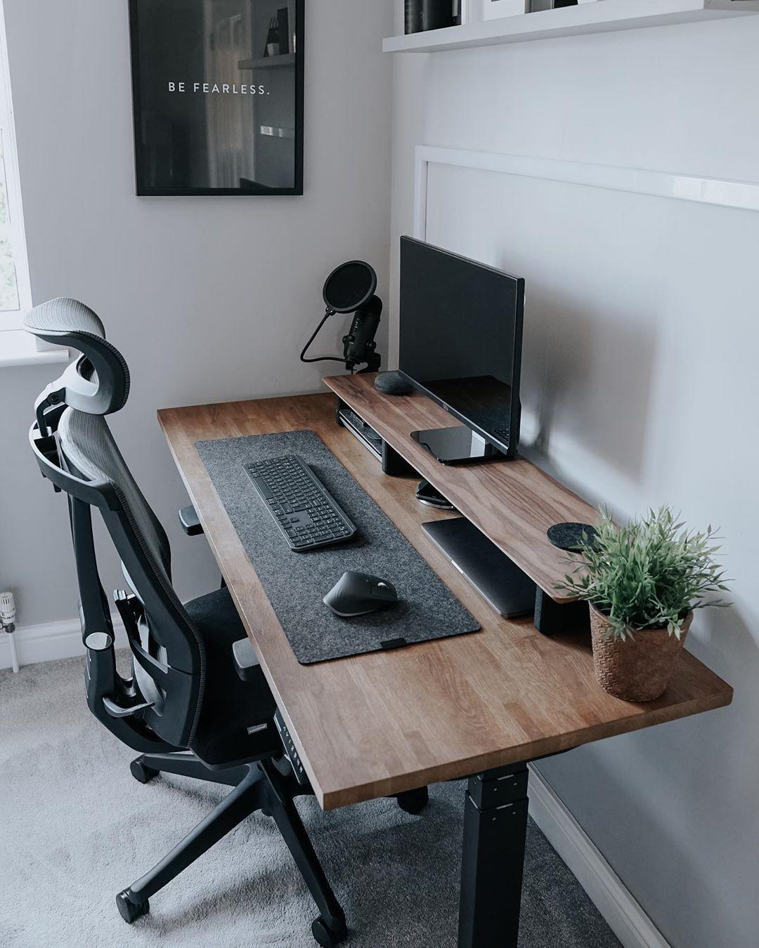 Autonomous Ai Best Standing Desks Ergonomic Office Chairs In 2020 Home Office Design Home Room Design Home Office Setup