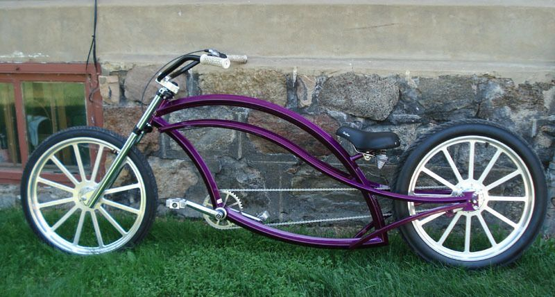 Custom Bicycle Bike Custom Built Chopper Bike Beach