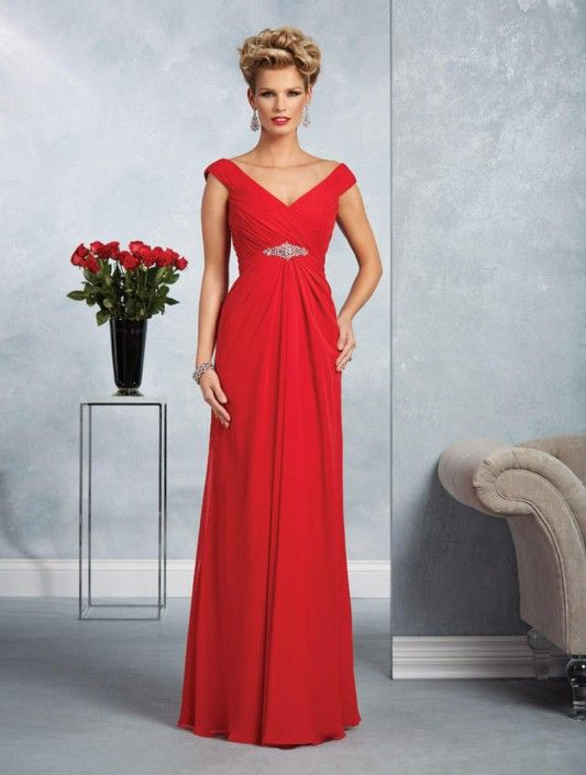 ae12ad0284 Alfred Angelo 9063 Off the Shoulder MOB Gown in 2018