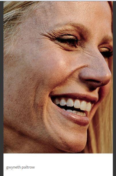 Gwyneth Paltrow untouched