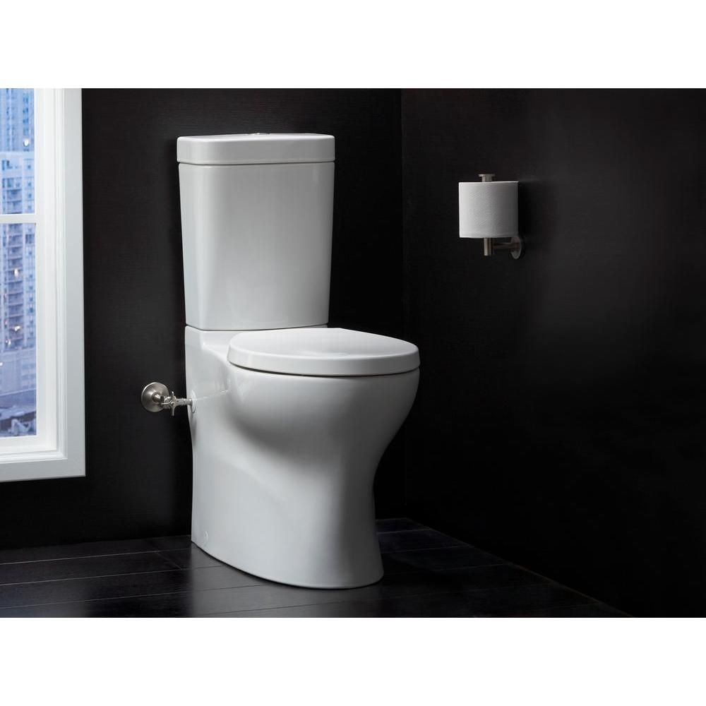 Phenomenal Kohler Persuade Circ 2 Piece Dula Flush Elongated Toilet In Machost Co Dining Chair Design Ideas Machostcouk