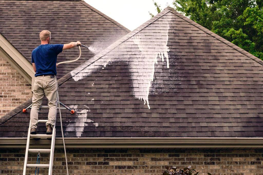 To Roof Cleaning In 2020 Roof Cleaning Roof Maintenance Pressure Washing Services
