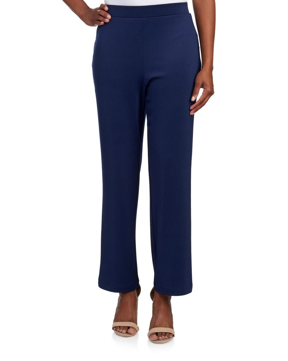 Petite Solid Jersey Knit Pants Pants Leggings Petites Women Stein Mart Knit Jersey Knit Pants Pants [ 1250 x 1000 Pixel ]