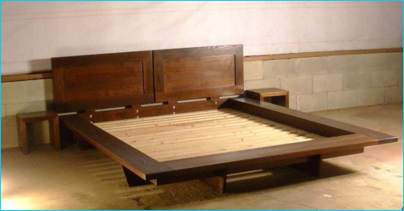 Floating bed frame plans pictures homebuilddesigns for Bed frame plans