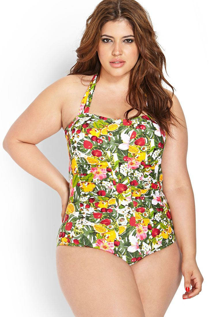 a6896203d6a5d Forbidden Fruit Swimsuit   FOREVER21 PLUS - 2000125206   suited in ...