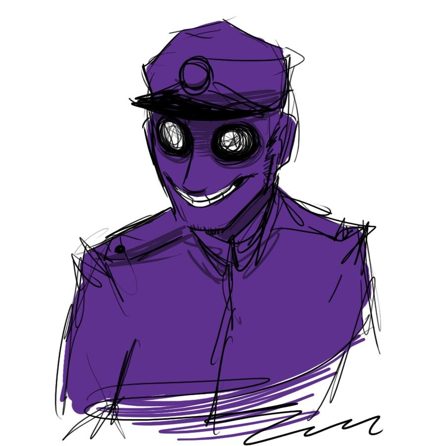The Drawn Out Of The Purple Guy