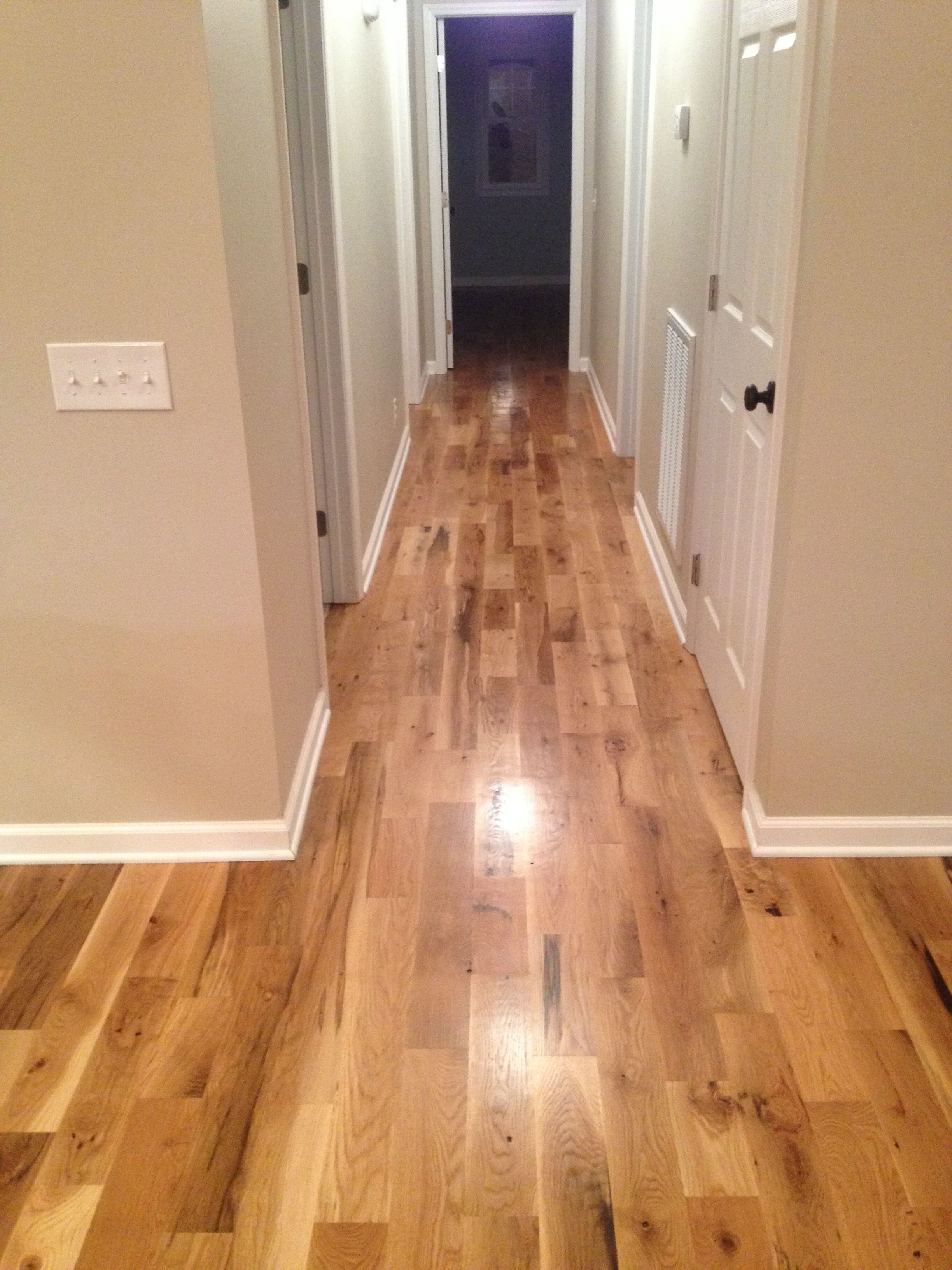 "4 1/4"" 2 Common White Oak Hardwood Floors from Munday"