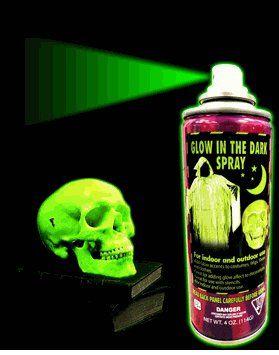 Glow In The Dark Spray Paint Green