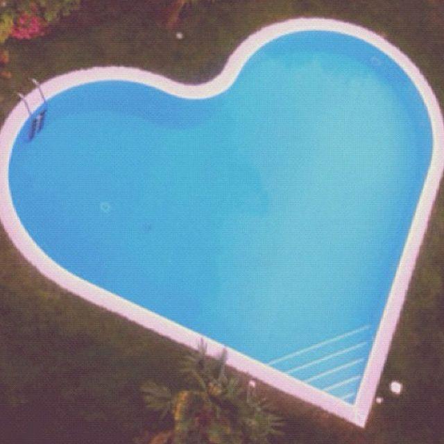 Marvelous Heart Shaped Pool. Design Ideas
