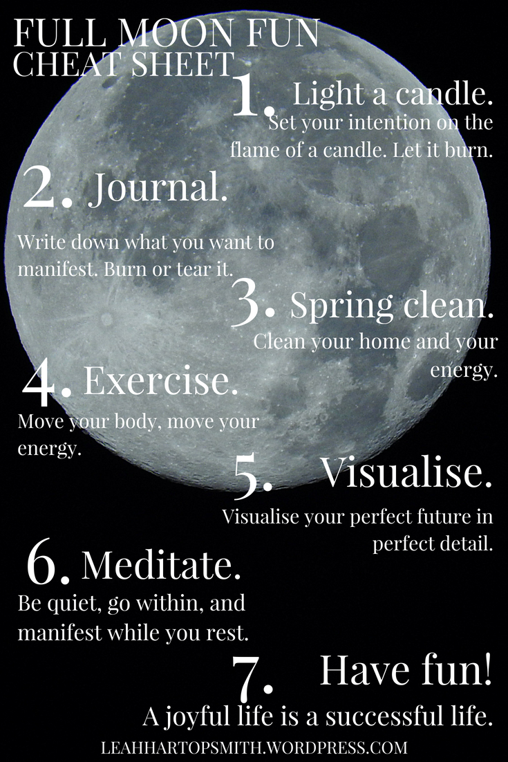 Full Moon Fun – 7 Ways to Use the May 29th Full Moon to Have Fun & Manifest Your Dreams