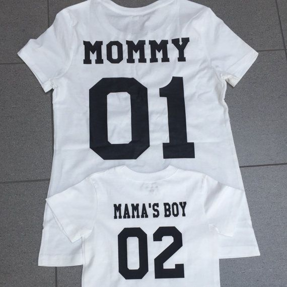 37dcdc585fb9 Mommy 01/Mama's boy 02 Mommy and Son-Mommy and baby boy/Mommy and me  matching…