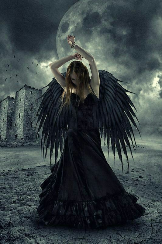 Tattered angel mistico angel black angels y gothic angel - Gothic fallen angel pictures ...