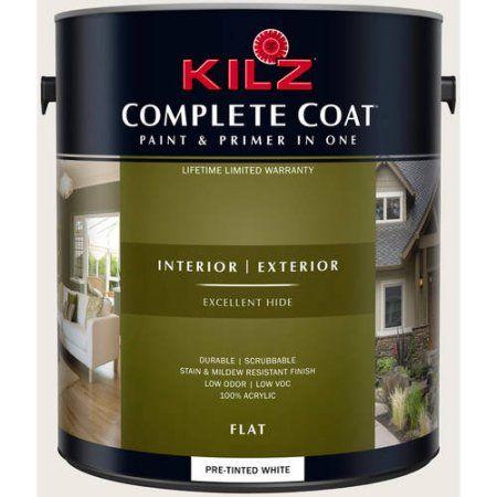 Kilz Complete Coat Interior/Exterior Paint & Primer in One #RJ110 ...