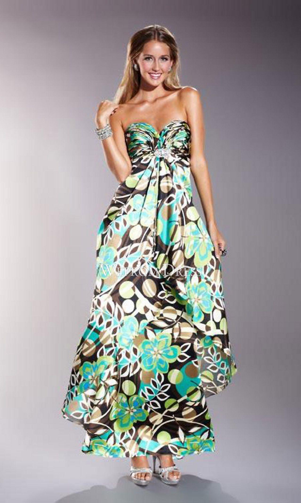 Vestidos De Flores Elegantes Largos Buscar Con Google En