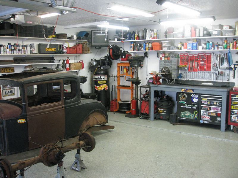 Transform your home with these fantastic garage lighting for Home garage shop