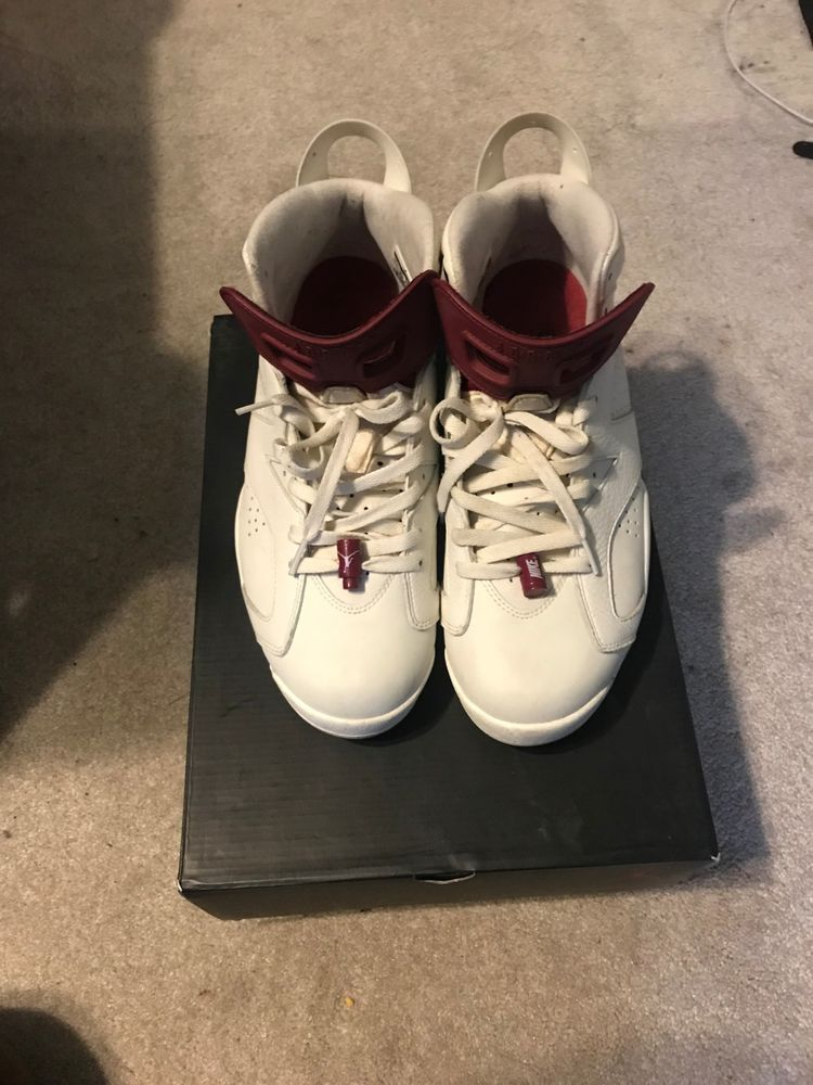 bfcd842a150581 Air Jordan Retro 6 Maroon Mens Size 11  fashion  clothing  shoes   accessories  mensshoes  athleticshoes (ebay link)