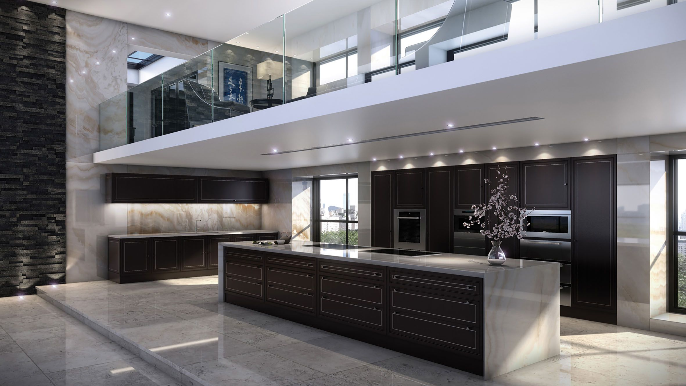 pin by jennifer yavuz on kitchens contemporary house on modern kitchen design that will inspire your luxury interior essential elements id=47316